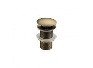 CLICK-CLACK Well výpusť bez přepadem starožitná bronz