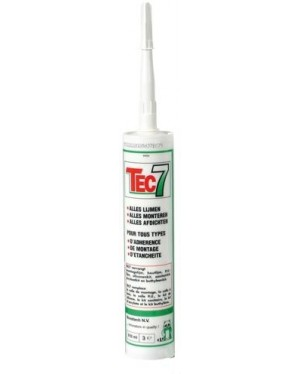 TEC 7 bílá silikon - lepidlo/tmel