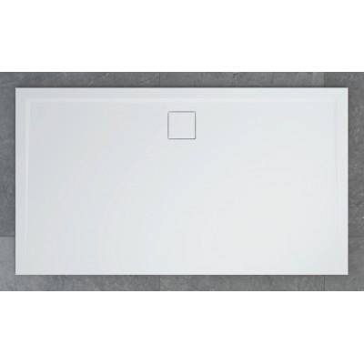 W20A L 090 160 04 Sprchová vanička obdelníková 90×160 cm se sifonem na delší straně