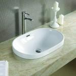 VIVI Well umyvadlo zápustné 61 x 40 cm bílé