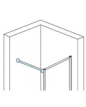 BTB 50 SanSwiss Stropní nebo stabilizační vzpěra, aluchrom 150 cm