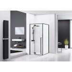 ERGO Black 120x90 Well Luxusní designová Sprchová zástěna