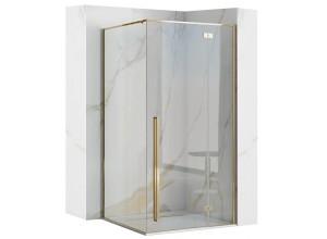 ERGO Gold 90x90 Well Luxusní designová Sprchová zástěna