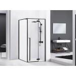 ERGO Black 90x90 Well Luxusní designová Sprchová zástěna