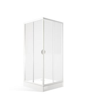 KAIROS 90 Clear Čtvercový sprchový kout posuvný