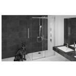 NOX COMBI 120x90 Pravá Well Luxusní Sprchová zástěna