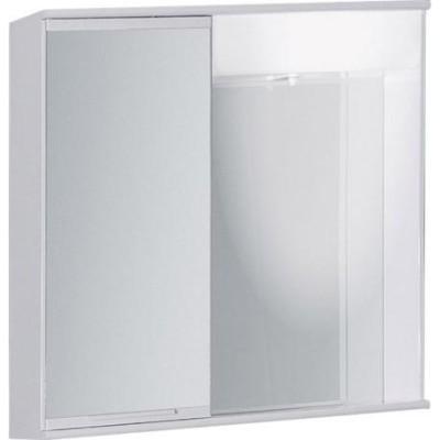 """LUMIX I 50 x 55 levá Olsen-Spa zrcadlová skříňka """"galerka"""" kovová"""