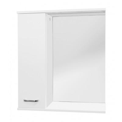 VILIO 70 L Well Zrcadlová skříňka s LED osvětlením, levá