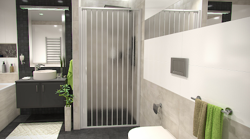 shrnovaci dvere do sprchoveho koutu