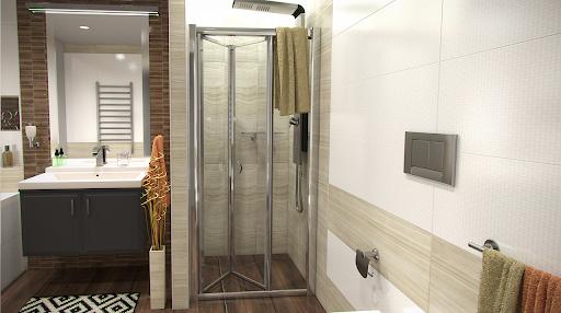 zalamovaci sprchove dvere