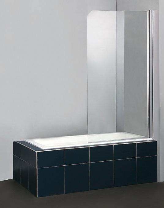 507 chrome clear Arttec vanová zástěna jednodílná, skladem