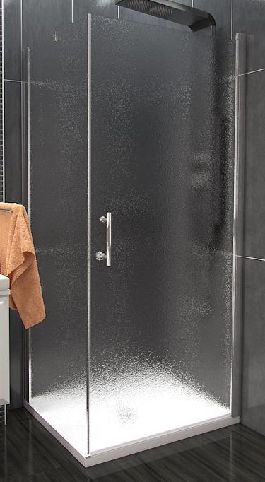ALFA COMBI 80 x 80 cm Grape Well Luxusní čtvercový sprchová zástěna, skladem, doprava zdarma