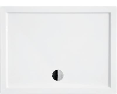 ALPINA 100x80 cm Olsen-Spa sprchová vanička obdélníková akrylátová, skladem