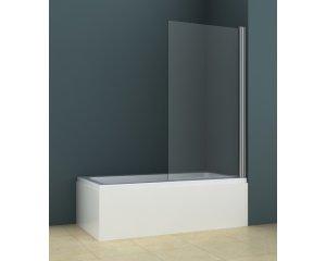 500 chrome clear Arttec jednodílná vanová zástěna, skladem