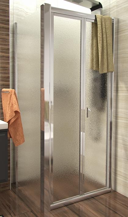 DELTA COMBI 90x90 Grape Well Sprchový kout se zalamovacími dveřmi, skladem, doprava zdarma