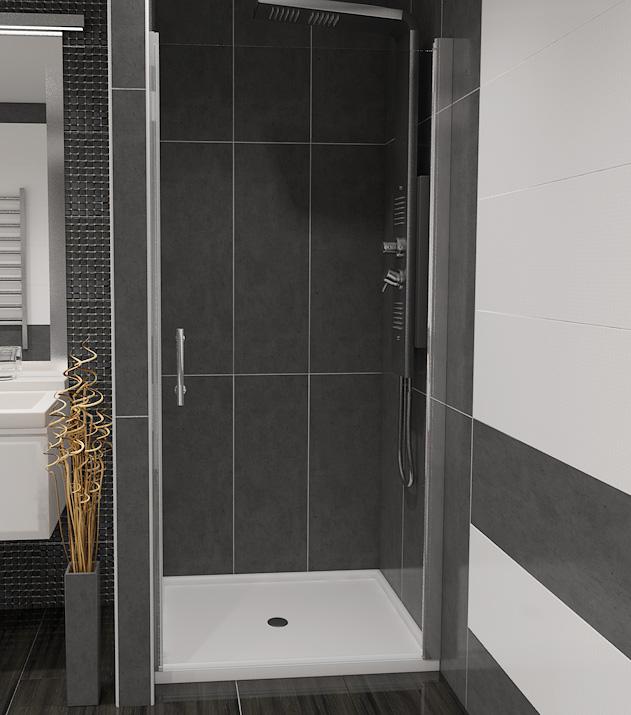 ALFA 90 Čiré Well Sprchové dveře do niky, skladem, doprava zdarma
