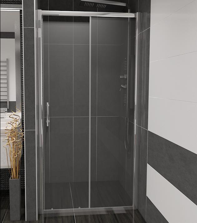 NICOL 120 čiré Well sprchové dveře do niky, skladem, doprava zdarma