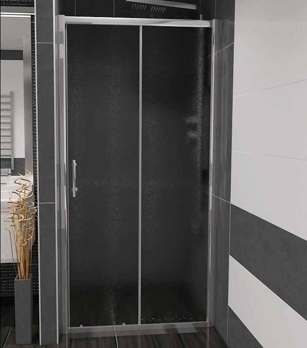 NICOL 120 grape Well sprchové dveře do niky, skladem, doprava zdarma