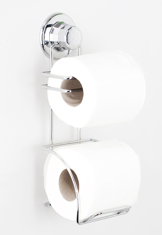 Držák toaletního papíru 2 role DM282