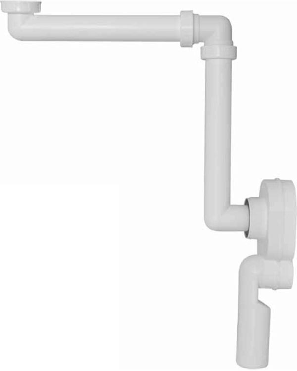 A873 Prostorově úsporný univerzální podomítkový sifon