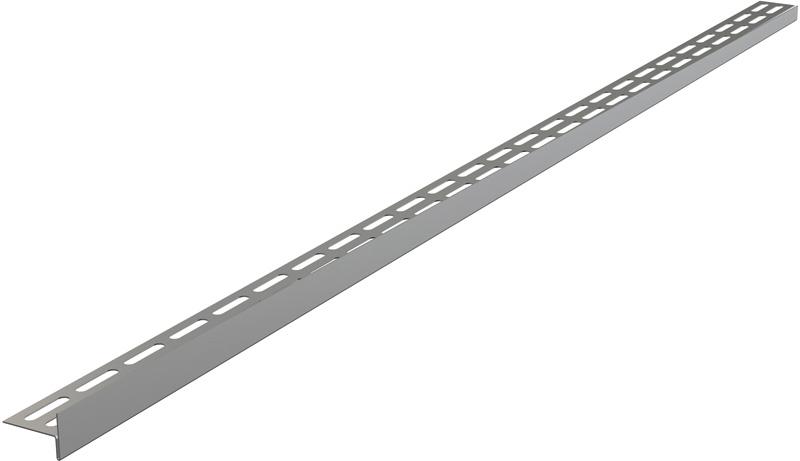 APZ 901/1000 Nerezová lišta pro spádovou podlahu - levá, matná