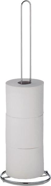 189463 KARAT Zásobník toaletního papíru 5 rolí - chrom