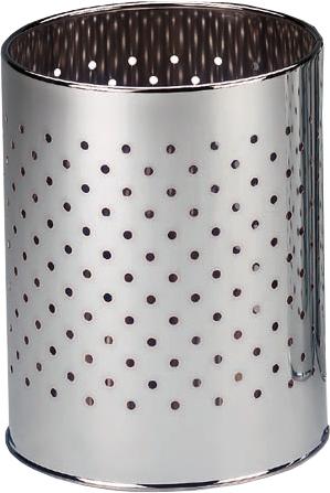 950278 TRIO Odpadkový koš pr. 25 cm - chrom, skladem
