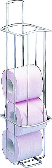 460415 ONDA Zásobník toaletního papíru - povrchová úpr. polytherm, skladem