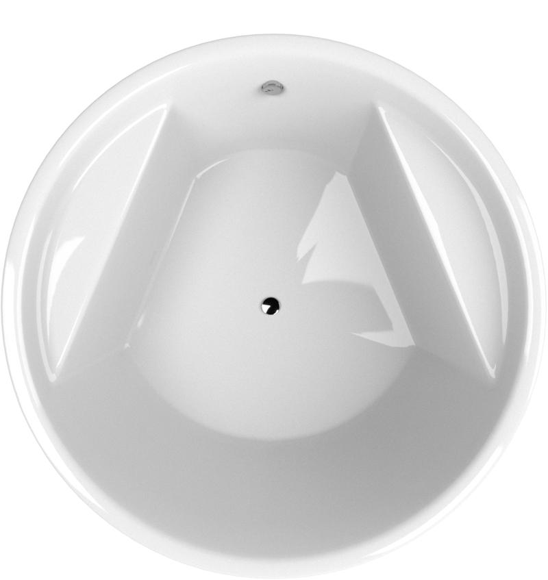 IMOLA 160 Hopa akrylátová vana kruhová, skladem