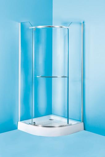 MALAGA II 90 Olsen-Spa sprchový kout čtvrtkruhový s akrylátovou vaničkou, skladem