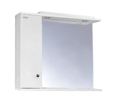 HELIOS 5 levá Olsen-Spa zrcadlo se skříňkou a osvětlením, skladem