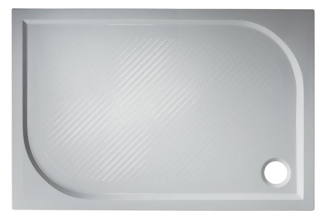 Plovdiv 120×80 Hopa vanička sprchová mramorová, skladem