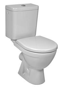 JIKA LYRA PLUS H8263860002413 WC kombi zadní vodorovný - hluboké splach., boční napouš