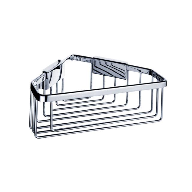 Ki 14003-26 Nimco Koupelnová drátěná rohová police , skladem