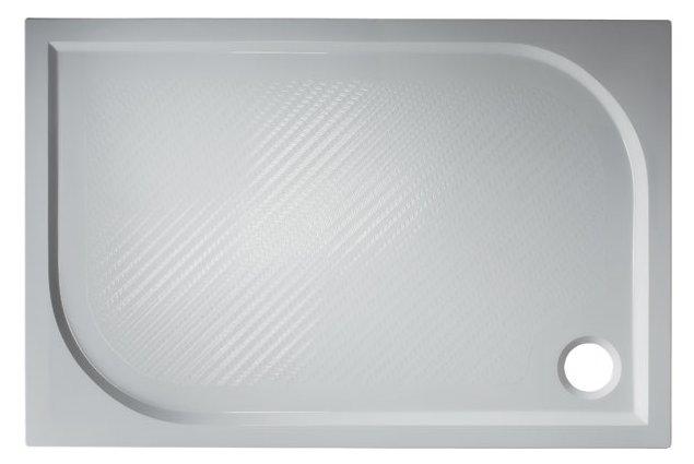 Plovdiv 100×80 Hopa vanička sprchová mramorová, skladem