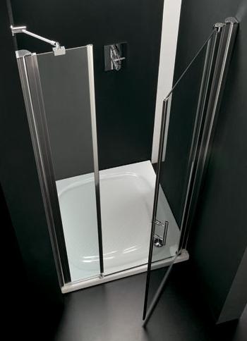 DUO 100 × 190 levé Hopa sprchové dveře, skladem