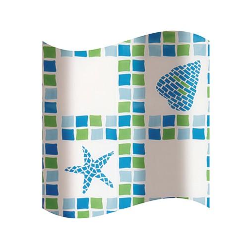 KD02100272 Olsen-Spa koupelnový závěs plast, skladem