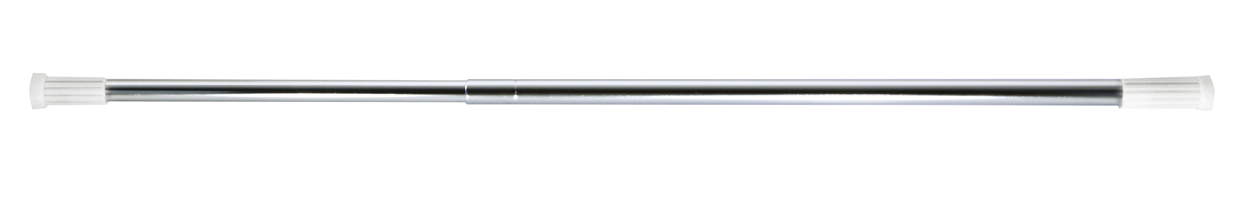 Tyč na sprchový závěs Olsen 70-120 chrom, skladem