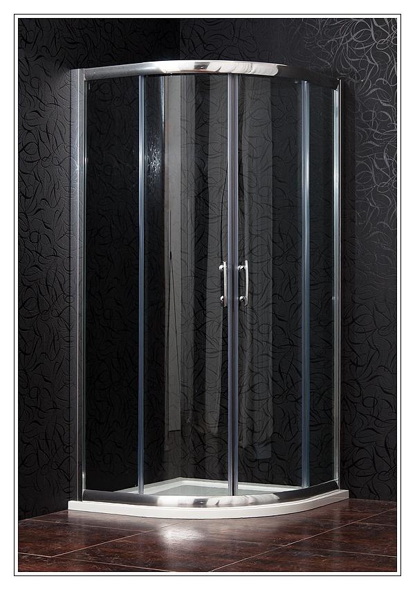 BRILIANT 80 clear NEW Arttec Sprchový kout čtvrtkruhový, skladem