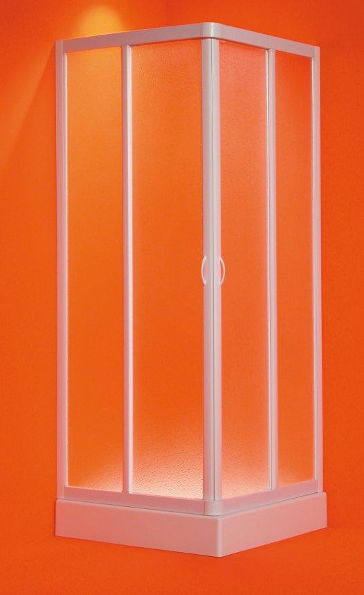 ANGELO 100-95 × 100-95 × 185 cm Olsen-Spa sprchová zástěna, skladem