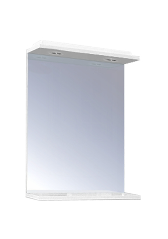 LU 50 x 62,5 Olsen-Spa zrcadlo s osvětlením, skladem