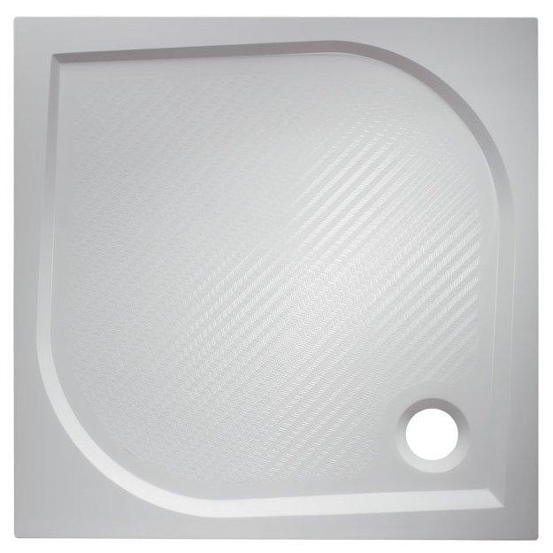 BURGAS 100 × 100 Hopa Vanička sprchová marbel , skladem