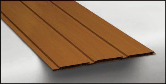 Hopa Plastový obkladový panel venkovní 08 světlé dřevo, skladem