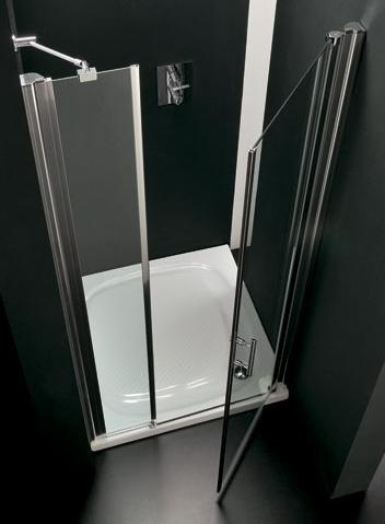 DUO 100 × 190 pravé Hopa sprchové dveře, skladem