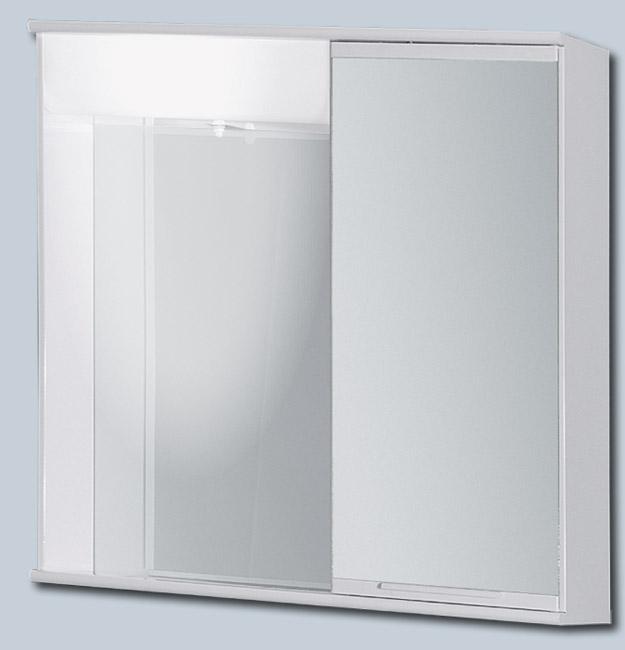 "LUMIX I 55 x 55 pravá Olsen-Spa zrcadlová skříňka ""galerka"" kovová, skladem"
