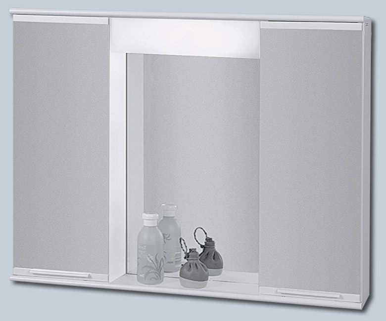 "LUMIX II 70 x 55 Olsen-Spa zrcadlová skříňka ""galerka"" kovová, skladem"