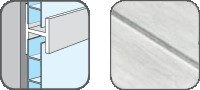 DA10329 Hopa Spojovací profil plastový 29 mramor 3m, skladem