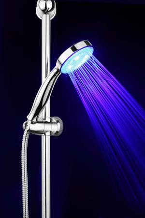HS 05 LED Arttec ruční sprcha s osvětlením , skladem