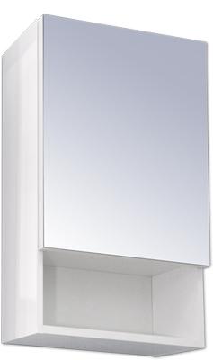 SW-45-LU Olsen-Spa Zrcadlová skříňka galerka 45 x 64 cm Pravá, skladem