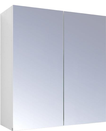 SW-60-LU Olsen-Spa Zrcadlová skříňka galerka 60 x 59,4 cm, skladem